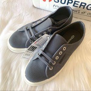 Superga 2750 Cotu Classic sneaker in Blue Shadow